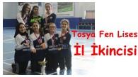 Tosya Fen Lisesi Kız Futsal Takımı İl İkincisi
