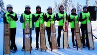 4. Ilgaz Dağı Geleneksel Kızak Yarışları Kastamonu'da başladı