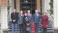 Belediye Başkanı Kazım Şahin'i Ziyaret Etti