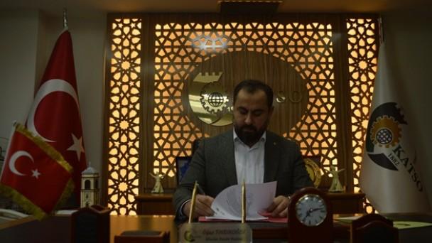 KATSO Başkanı Oğuz Fındıkoğlu, 23.EMITT Fuarını değerlendirdi