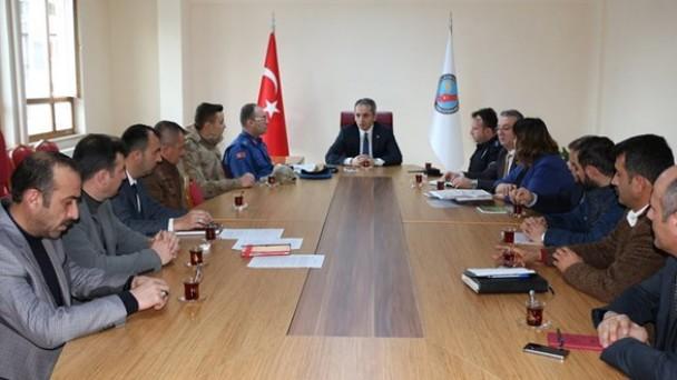Tosya Av Komisyonu Toplandı