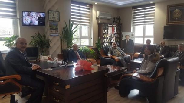 Başkan Şahin'e 14 Mart Tıp Bayramı Ziyareti