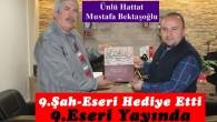 Hattat Mustafa Bektaşoğlu'ndan Gazetemize Ziyaret