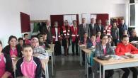 Kızılay, Tosya'da öğrencilere diş fırçası ve macun dağıttı
