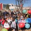 Tosya Cumhuriyet Anaokulunda Fidan Dikme Etkinliği