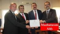 Belediye Başkanı Volkan Kavaklıgil, Törenle Mazbatasını Aldı