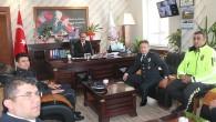Emniyetten Belediye Başkanı Volkan Kavaklıgil'e Ziyaret