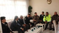 Kaymakam Deniz Pişkin'den şehit polisin ailesine ziyaret