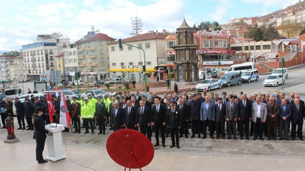 Tosya'da polis haftası kutlandı