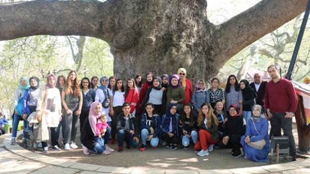 Atabinen Kız Meslek Lisesi'nden  Bursa Gezisi