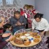 Kaymakam Deniz Pişkin, engelli ailenin iftar konuğu oldu