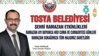 Tosya Belediyesi Ramazan Etkinlikleri Başlıyor