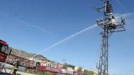 Tosya'da Trafo Yangını Korkuttu