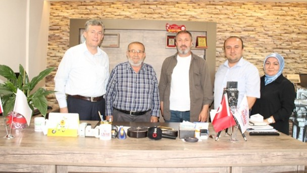 İHA Bölge Müdürü Tosya'da Ziyaretlerde Bulundu