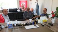 İlçe Jandarma Komutanından Gazetemize Veda Ziyareti