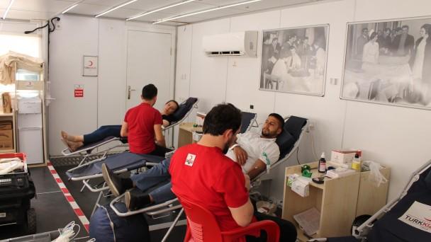Kızılay'a Tosya'da 200 Ünite Kan Bağışı
