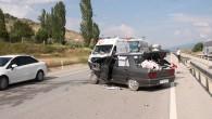 Tosya D100 Karayolunda Kaza; 3 Yaralı
