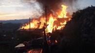 Tosya Kayaönü Köyünde Yangın!..