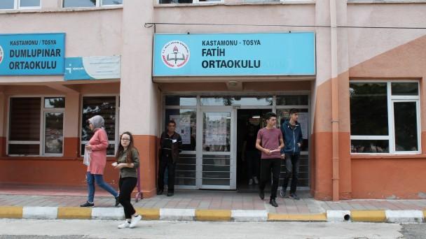 Tosya'da 1026 Öğrenci TYT Sınavında Ter Döktü
