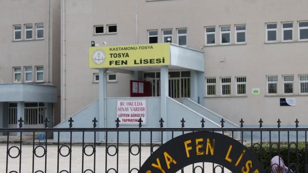 Tosya'da İlk Sınav Başladı