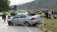 Tosya'da kaza, 1 ölü 7 yaralı