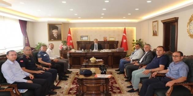 Tosya'da YKS toplantısı yapıldı