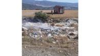Çöplükteki yangın araziye sıçradı