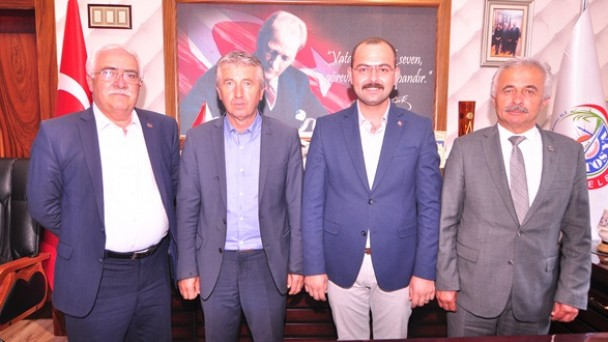 Başkan Volkan Kavaklıgil'e Ziyaret
