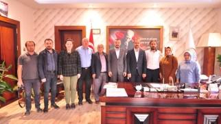 Gazeteciler Cemiyetinden Başkan Kavaklıgil'e Hayırlı Olsun Ziyareti