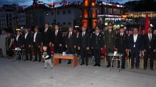 Tosya halkı 15 Temmuzu unutmadı