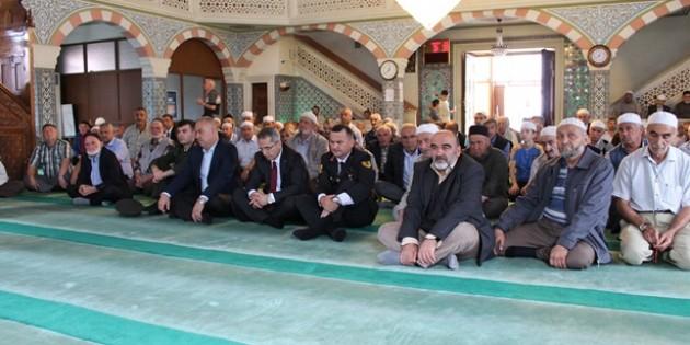 Tosya'da 15 Temmuz Şehitleri için mevlit okundu