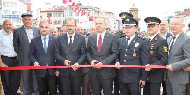 Tosya'da 15 Temmuz Resim Sergisi Açıldı