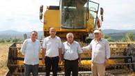 Tosya'da hububat hasadı başladı