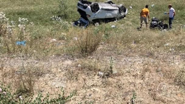 Tosya'da Trafik Kazası;5 Yaralı
