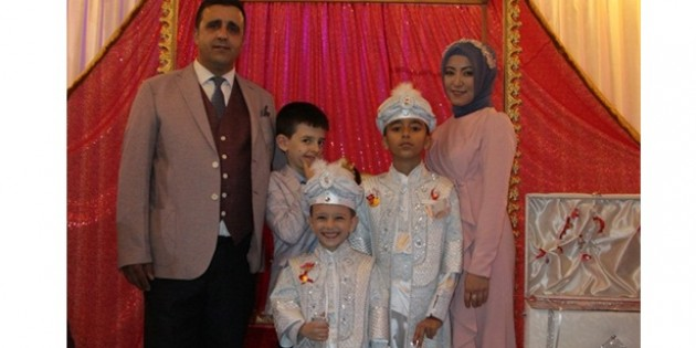 A. Zahid ve M. Fevzi için Rüya Gibi Sünnet Düğünü