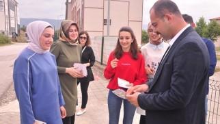 Başkan Kavaklıgil, öğrencilerle bir araya geldi