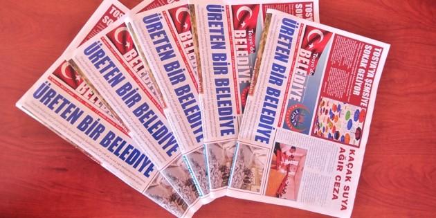 Tosya Belediyesinden bir ilk, basın bülteni