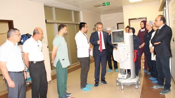 Tosya Devlet Hastanesine FAKO Cihazı Alındı