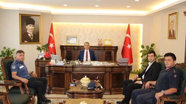 Tosya'da Güvenlik ve Asayiş Toplantısı Yapıldı
