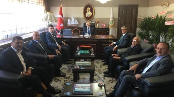Ak Parti'den Orman Bölge Müdürüne Ziyaret