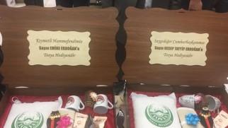 Coğrafi Ürünler Zirvesinde Cumhurbaşkanı Erdoğan'a Tosya Pirinci Hediyesi