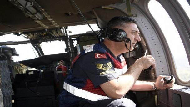 D-100 Karayolunda Havadan Trafik Denetimi