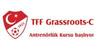TFF Grassroots-C Antrenörlük Kursu başlıyor