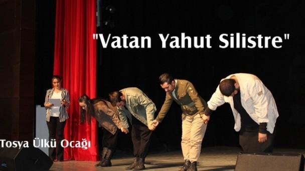 Tosya Ülkü Ocağından Tiyatro Gösterisi