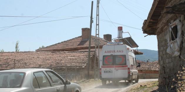 Tosya'da cevizden düşen kişi yaralandı