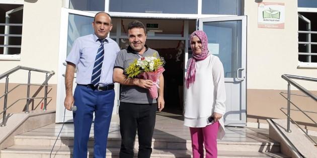 Tosya'da Halis Öğretmene Sevgi Seli