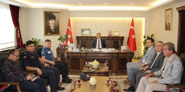 Tosya'da öğrenci yurtları güvenliği toplantısı yapıldı
