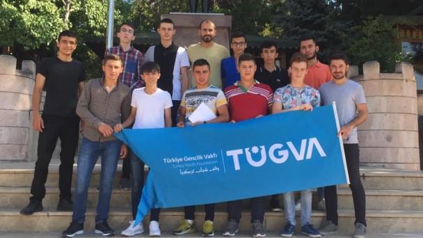 Tosyalı Gençler Kefken Gençlik Kampına Katıldılar
