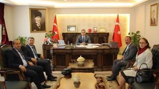 İl Kültür Müdürü Tosya Kaymakamını Ziyaret Etti