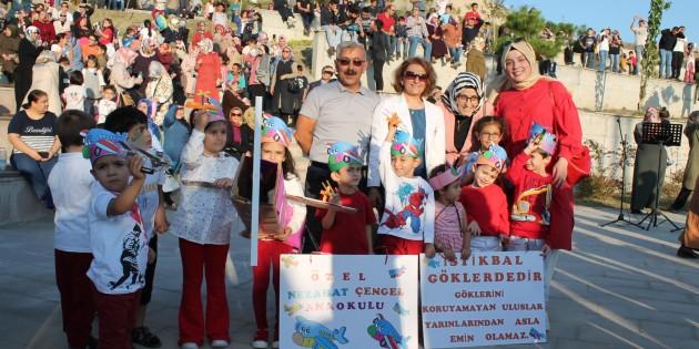Hava Gösterilerine Özel Nezahat Çengel Anaokulu Damga Vurdu